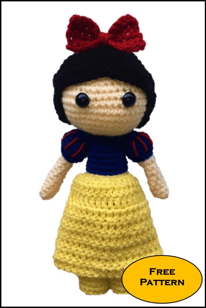 Free Snow White Amigurumi Pattern Crochet Daisy And Storm