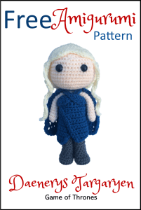 Free Game of Thrones Daenerys Targaryen Amigurumi Pattern