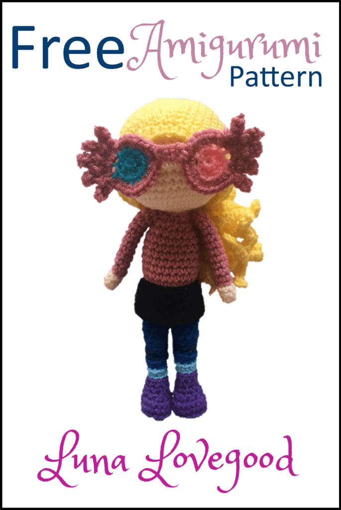 Free Harry Potter Amigurumi Pattern (Crochet) | Crochê do harry ... | 1024x685