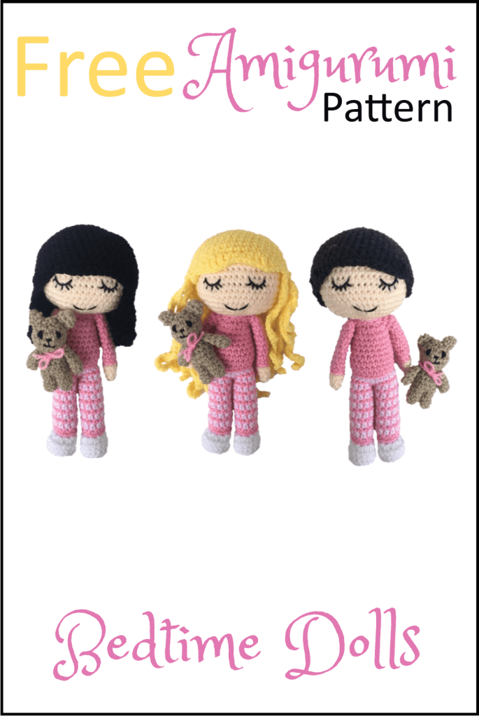 Free Bedtime Dolls Amigurumi Pattern - Daisy and Storm