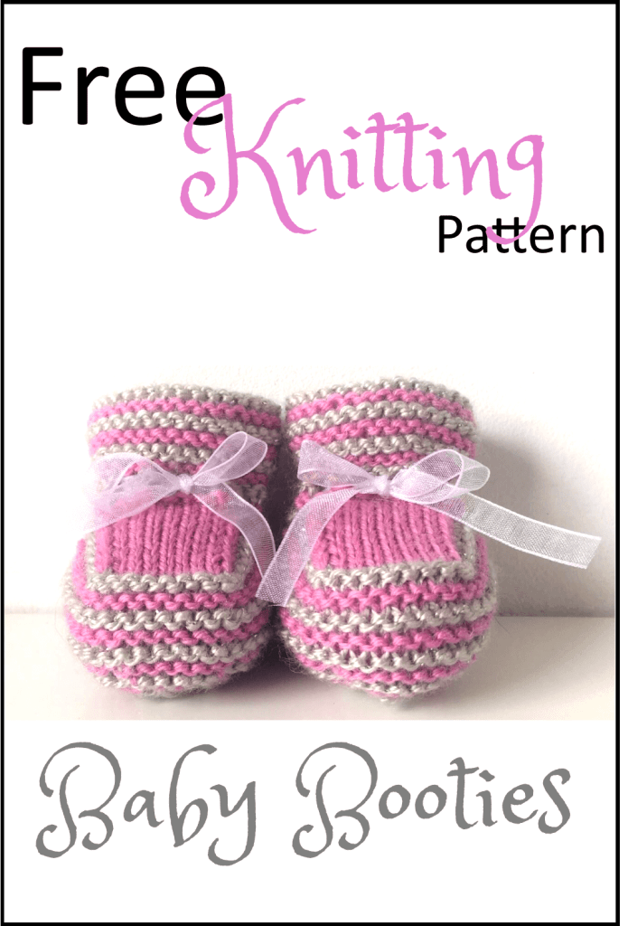 9ef510628 Stash Busting Baby Booties Free Knitting Pattern - Daisy and Storm