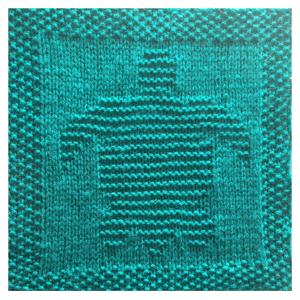 Free Knitting Patterns for Animal Washcloths or Afghan Squares