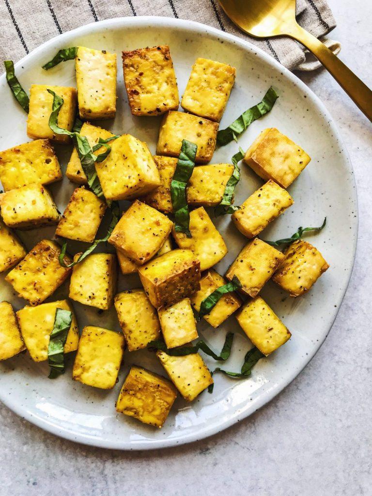 crispy baked tofu, magnesium rich foods