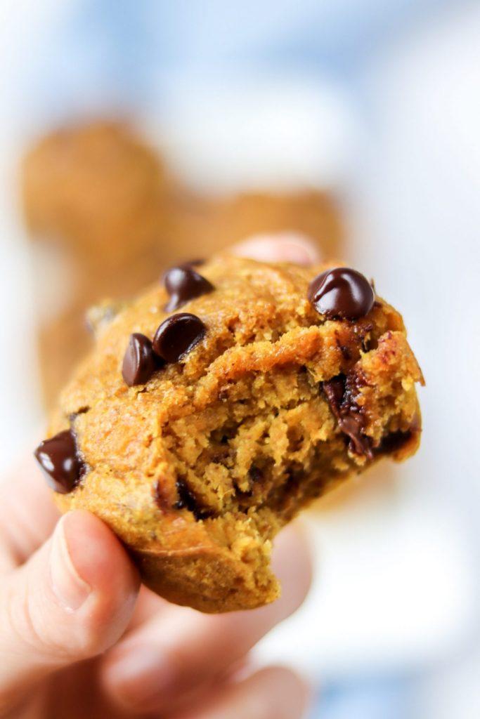 almond butter sweet potato muffin