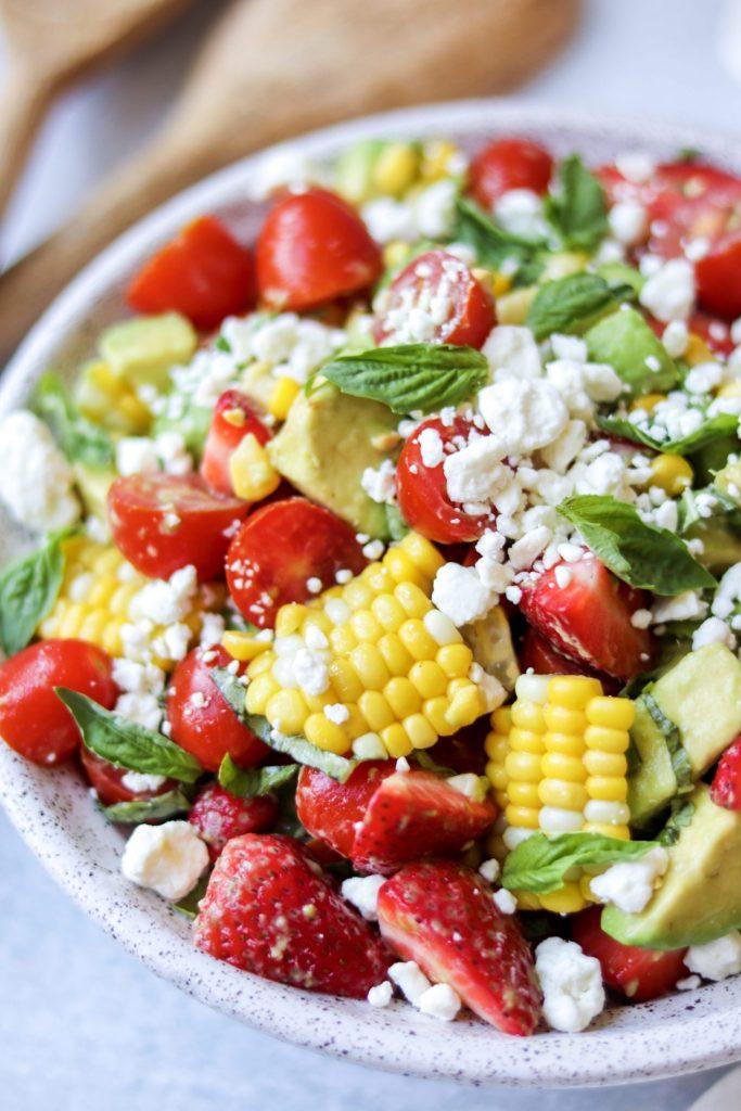 corn tomato avocado salad
