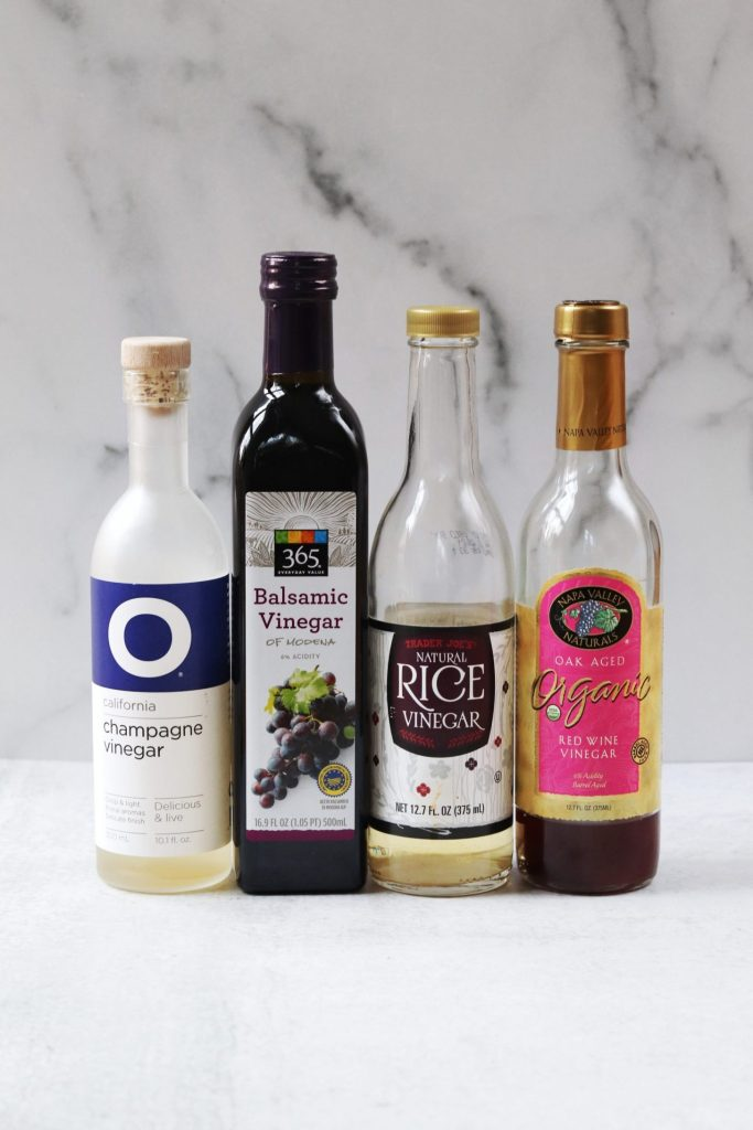 Pantry staples - vinegars