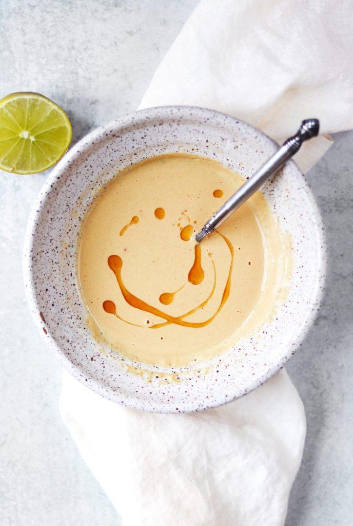 Sesame ginger tahini sauce - Daisybeet