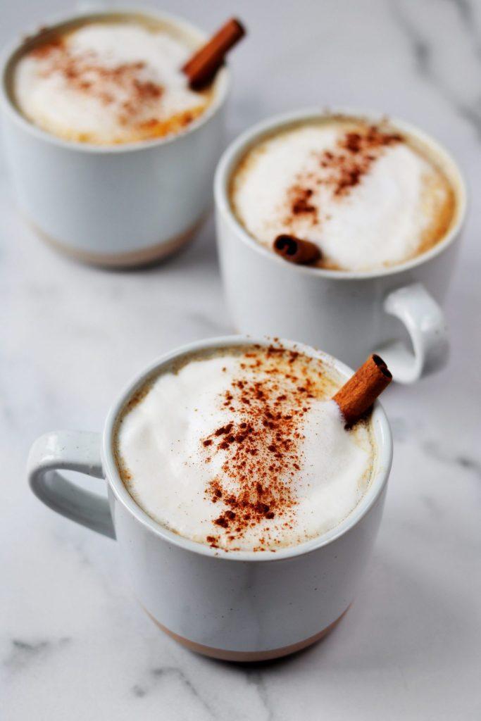 Tea latte - best foods for brain health - Daisybeet