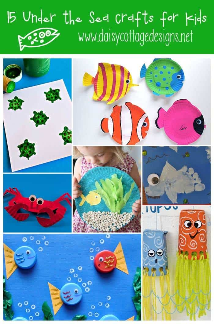 Kids love to play with san. 15 Under The Sea Crafts For Kids Daisy Cottage Designs
