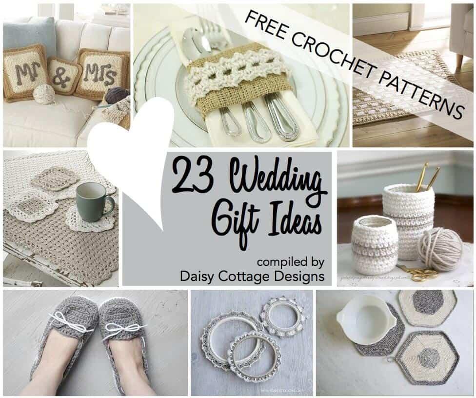 Wedding Crochet Patterns 23 Free Crochet Patterns  Daisy Cottage Designs