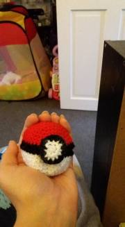 This is one of the opening pokeballs, fastened
