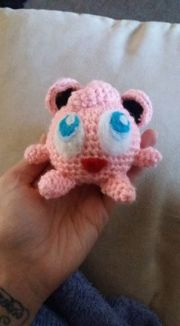 JigglyPuff helped me find my new found love for needle felting...one of the most satisfying things I have ever come across