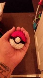 This is a regular pokeball