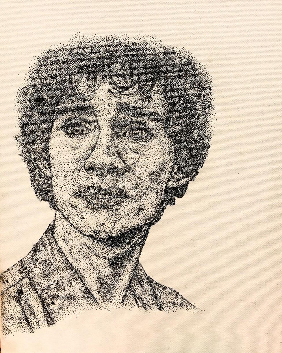 Melon F*cker, Robert Sheehan: pointillism