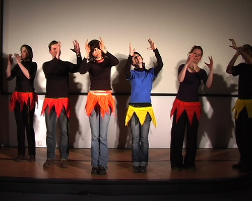 Interpretive Dance of the Polypeptides