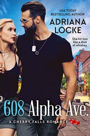 Book Review: 608 Alpha Avenue by Adriana Locke - A Cherry Falls romance
