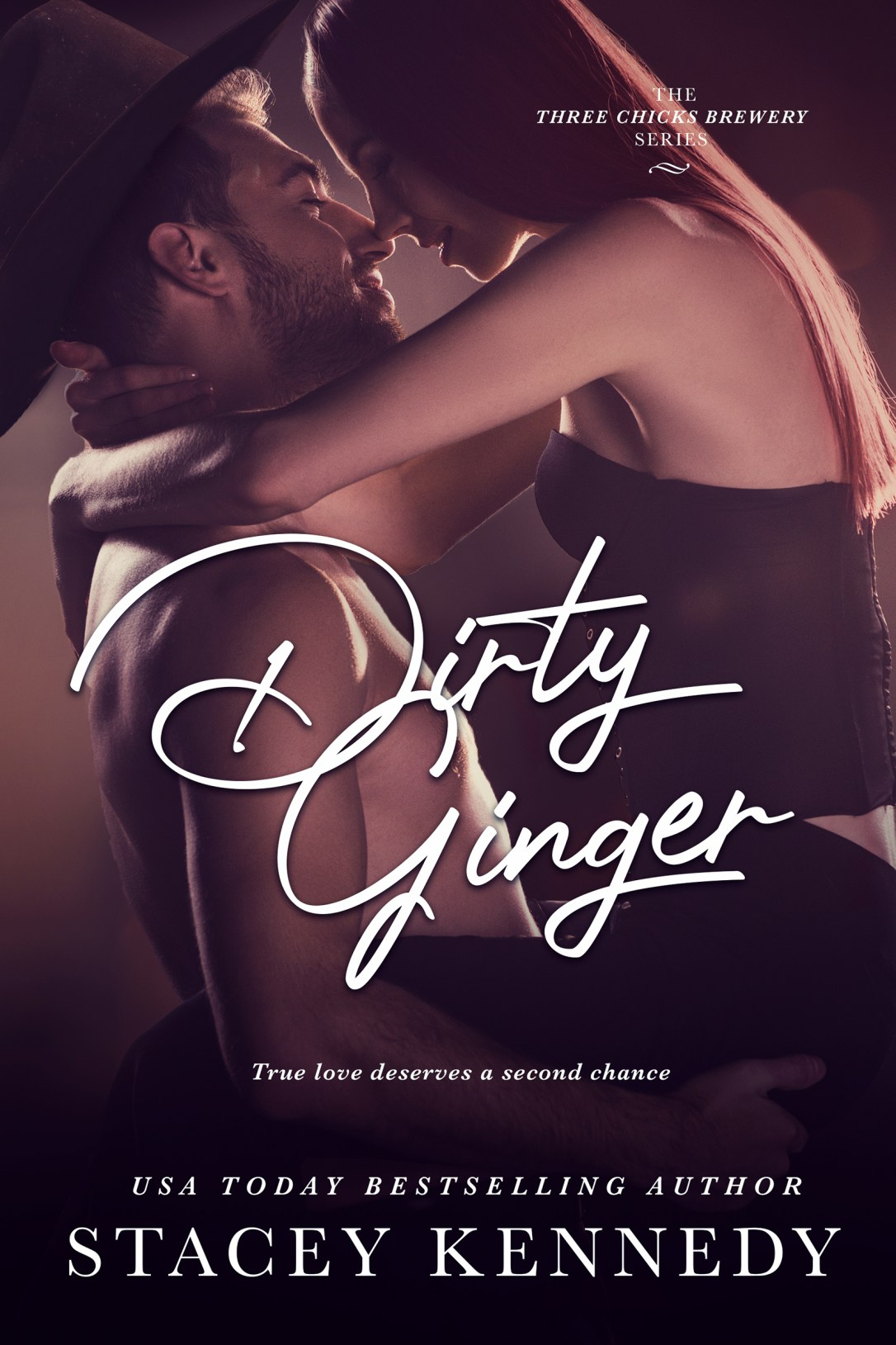 Currently Reading: Dirty Ginger by Stacey Kennedy