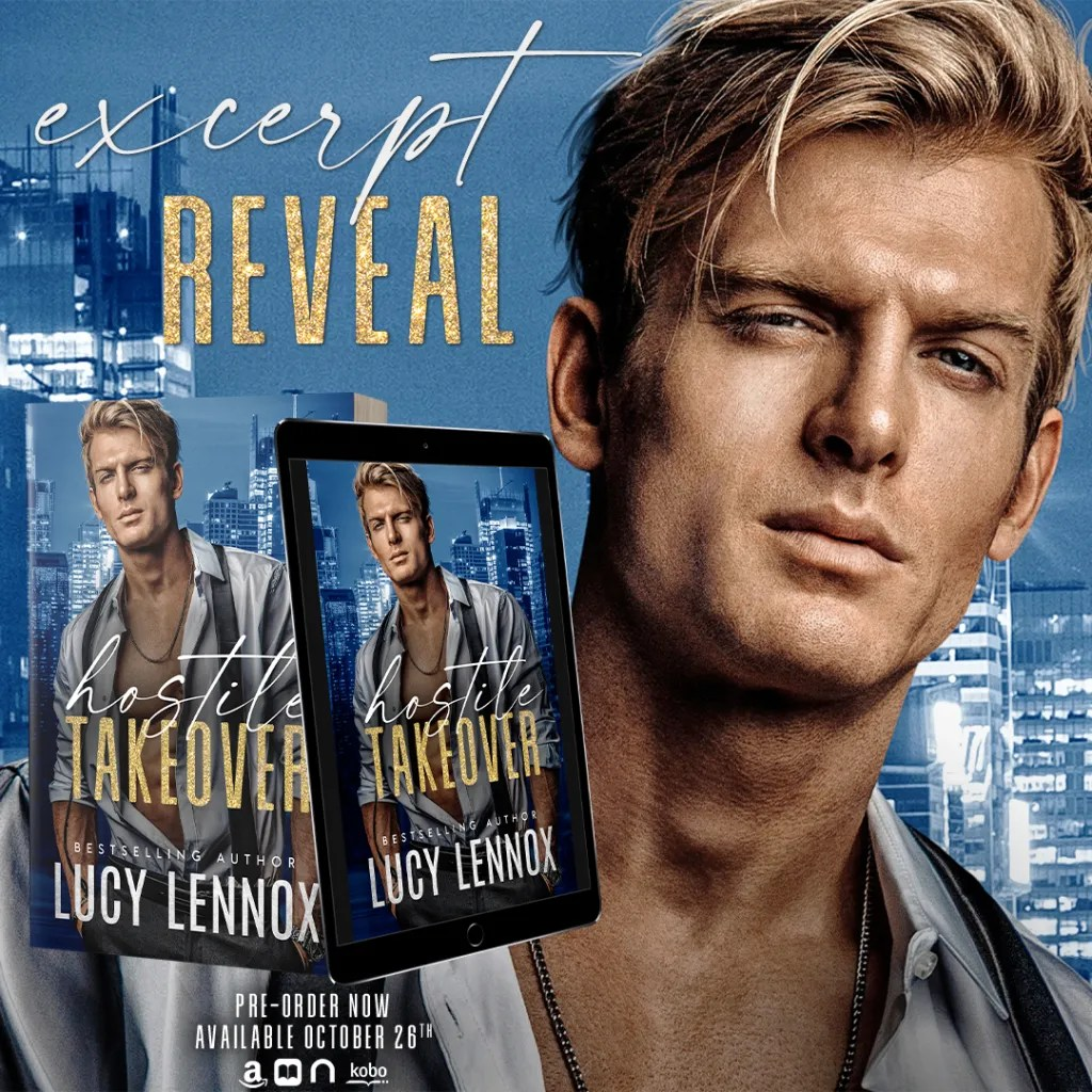 Coming Soon from Lucy Lennox Hostile Takeover