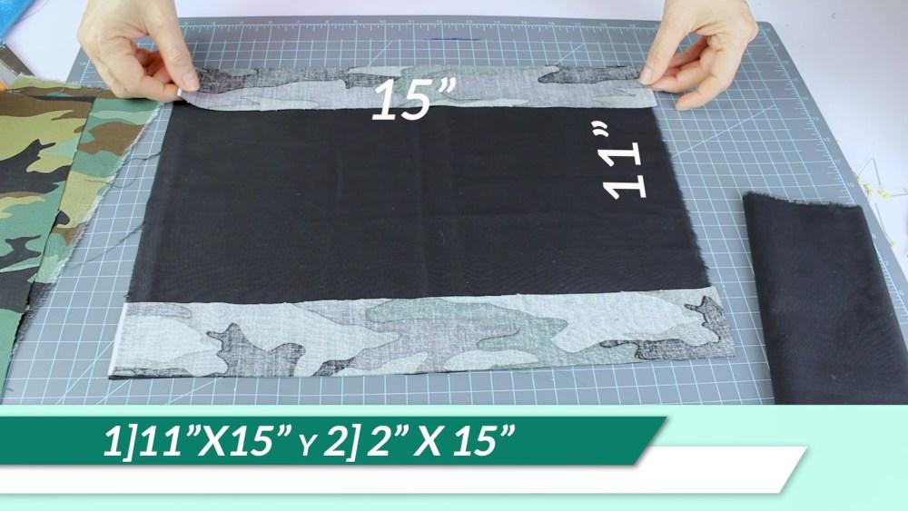 Pasos para coser una bandera de jardín de bricolaje.