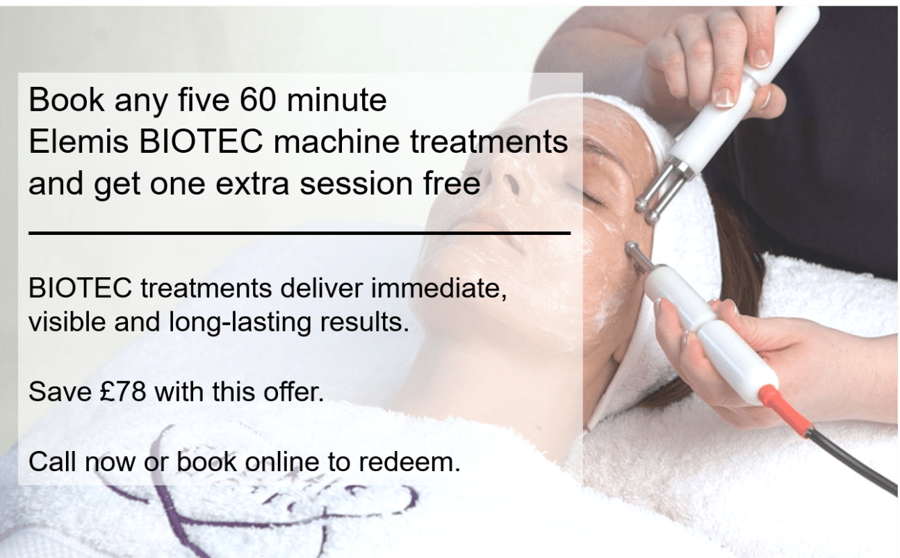Book 5 Biotec massage and get 1 free