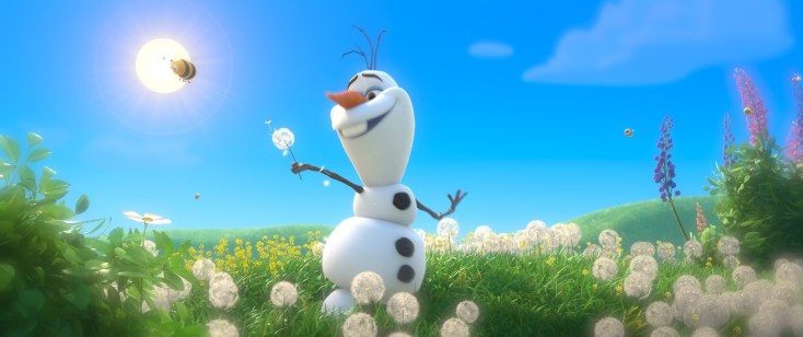 Olaf Dreaming of Summer