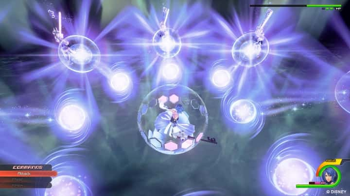 Kingdom Hearts 0.2 Menu