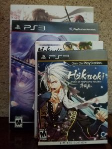Hakuoki Limited Edition Boxes