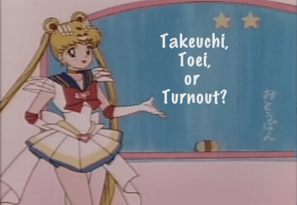 Takeuchi, Toei, or Turnout?