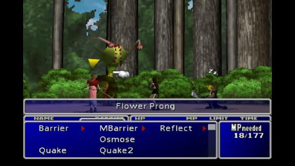 Final Fantasy VII Flower Prong Large