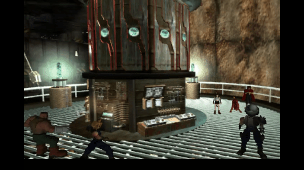 Final Fantasy VII New Threat Strange Being 1