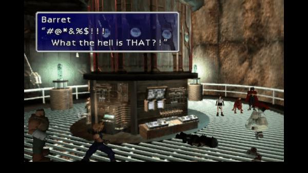 Final Fantasy VII New Threat Strange Being 2