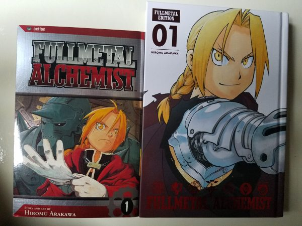 Fullmetal Alchemist original vs Fullmetal Edition