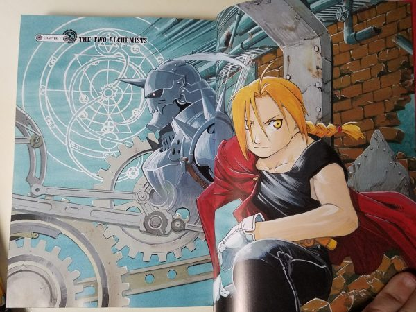 Fullmetal Alchemist Fullmetal Edition color pages