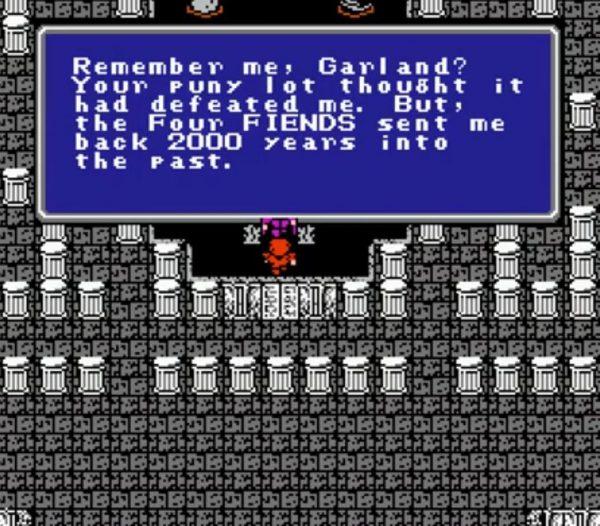 Final Fantasy NES Quote