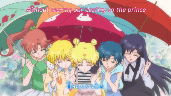 Usagi's friends