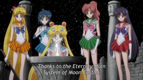 Queen Serenity Moon visit