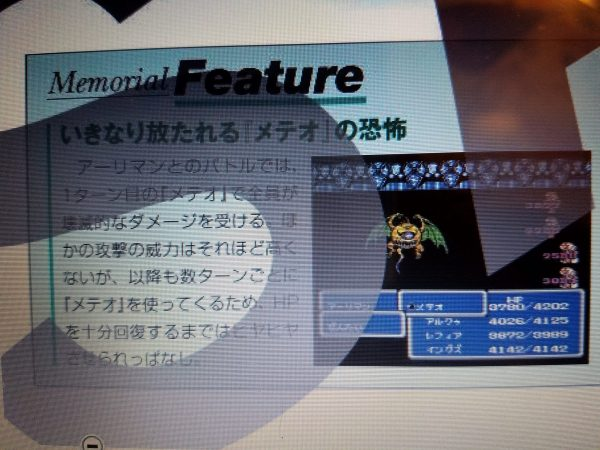 Final Fantasy Ultimania Archive Japanese Sample 3