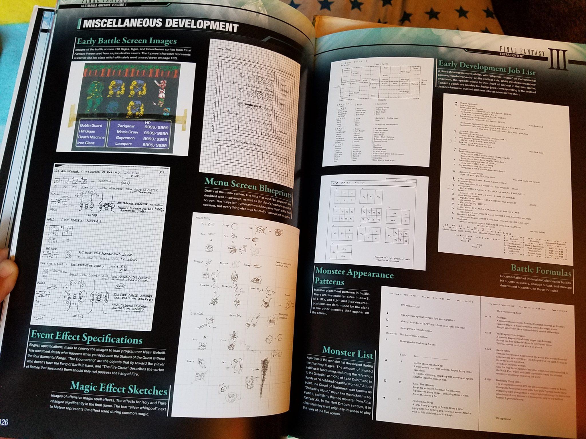 Final Fantasy Ultimania Archive 1 Sample 4