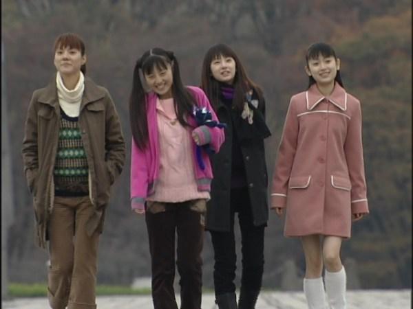Makoto, Usagi, Rei, & Ami