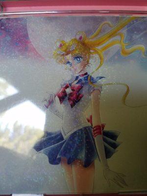 Pretty Guardian Sailor Moon the 20th Anniversary Memorial Tribute glitter cover