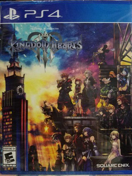 Kingdom Hearts III game cover