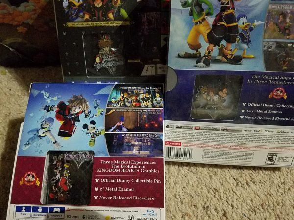 Kingdom Hearts pins