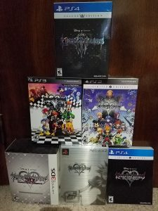 Kingdom Hearts limited editions