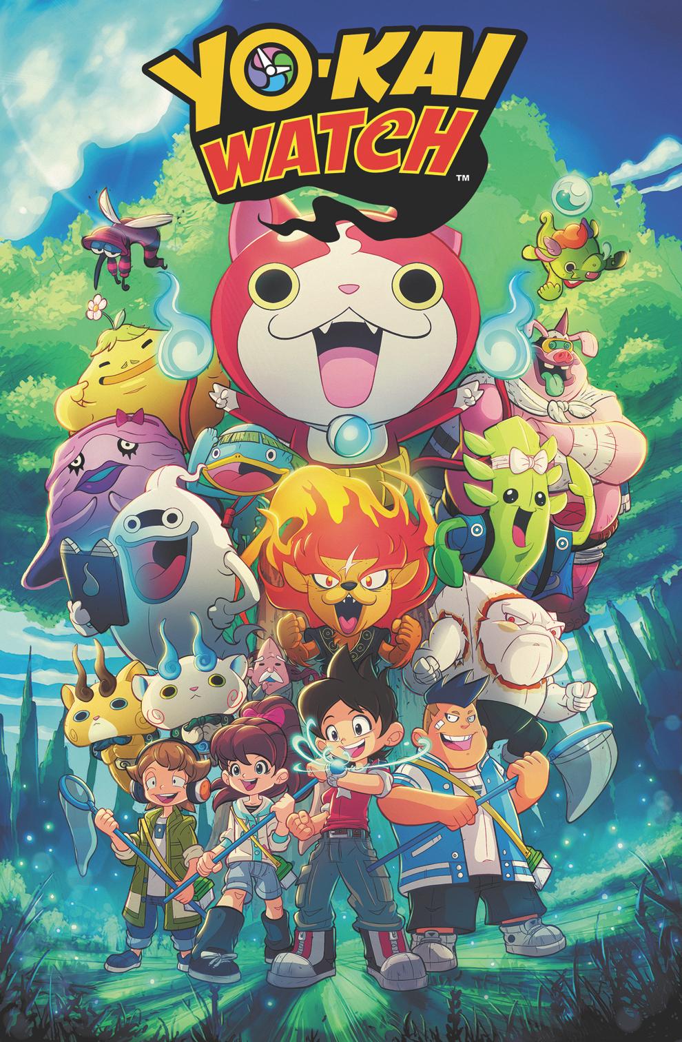 Comic Review Yo Kai Watch Daiyamanga