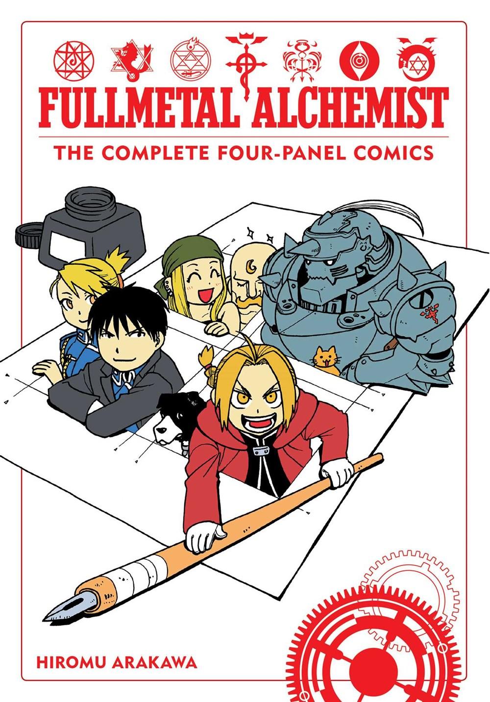 Manga Review - Fullmetal Alchemist: The Complete Four ...