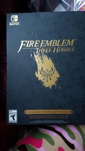 Fire Emblem: Three Houses Seasons of Warfare Edition Box