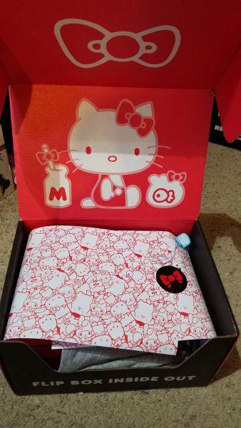 Hello Kitty Loot Crate 45th Anniversary box