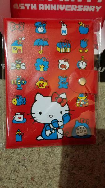 Hello Kitty Loot Crate 45th Anniversary journal