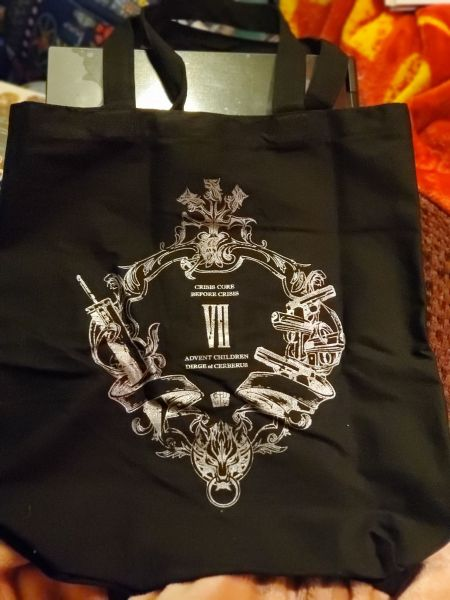 Final Fantasy VII Series Special Book (with tote bag) tote