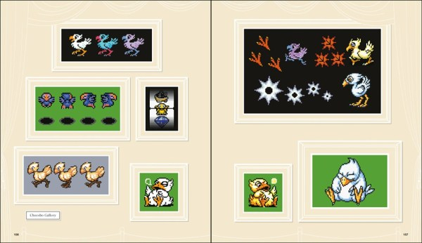 FF DOT: The Pixel Art of Final Fantasy Sample 3
